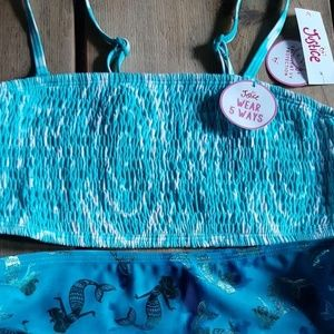 Size justice nwt bathing suit